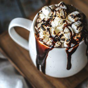 Smotana a čokoláda